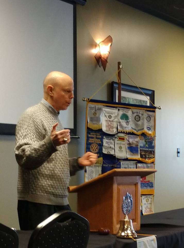 Howard Kellman, Voice of the Indianapolis Indians, speaking February 1, 2018